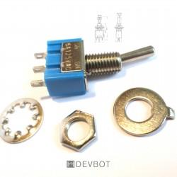 Interrupteur à bascule 6A 125V