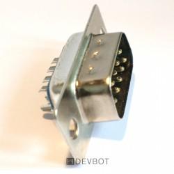 Connecteur RS-232 DB9 Mâle