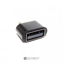 Adaptateur micro USB mâle /...