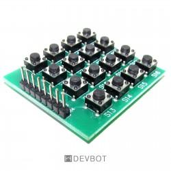 Module 16 boutons Matrice 4x4