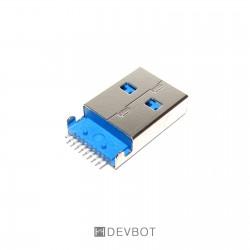 Connecteur USB 3.0 A Mâle