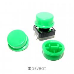 Capuchon Vert pour bouton...