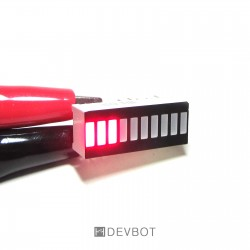 Bargraphe 10 leds rouges