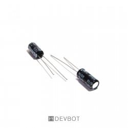Condensateur chimique 10µF 50V