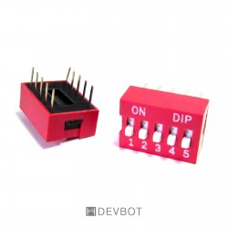 Interrupteur DIP 5...