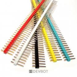 Kit 5 Barrettes 40 Pin Mâle...