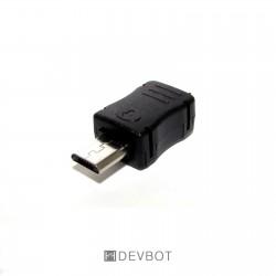 Connecteur MICRO USB Mâle +...