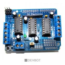 Shield moteur pour Arduino Uno