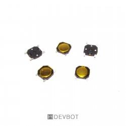 Bouton poussoir 4x4x0.8 CMS