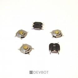 Bouton poussoir 5x5x1,5 CMS