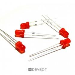 LED Rouge 3mm
