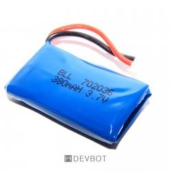 Batterie Lipo 3,7V 380mAh