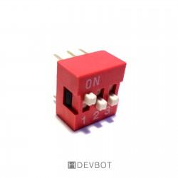 Interrupteur DIP 3...